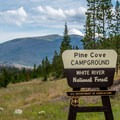 Pine Cove Campground.- Pine Cove Campground