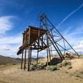 Occidental Mine shaft.- Comstock Mining Loop