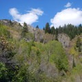 Leaving from the East Eagle Trailhead.- Crater Lake, Wallowas