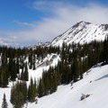 Bring your snowshoes if you plan a spring hike to Crater Lake.- Crater Lake, Wallowas