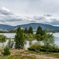 Some beautiful views of Dillon Lake from Heaton Bay.- Heaton Bay Campground