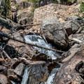 Chasm Falls.- Old Fall River Road