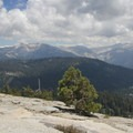 The view from the Little Baldy summit looking toward the High Sierra.- Little Baldy