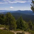 Lots of manzanita as you lose elevation.- Mount McLoughlin