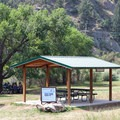Picnic areas and restrooms along the trail.- Waterton Canyon