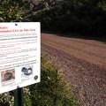Be careful – rattlesnakes inhabit the area.- Waterton Canyon