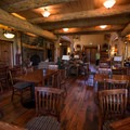 Breakfast area at the lodge.- The Suttle Lodge