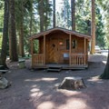 Small cabin rentals at The Lodge at Suttle Lake.- The Suttle Lodge