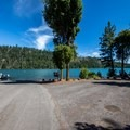 Boat ramp at South Shore Campground.- South Shore Campground