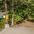 Trailhead on Alta Lake Road.- Rainbow Lake + Madeley Lake Hike