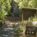 Built in 1937, the Storm Mountain Amphitheater hosts local perfomances.- Storm Mountain Day Use Area
