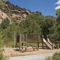 Playground for the kids.- Storm Mountain Day Use Area