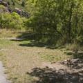 Horseshoe pit.- Storm Mountain Day Use Area