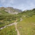 Near the detour to Geneva Lake. - Four Pass Loop