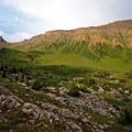 Sunset near Trail Rider Pass.- Four Pass Loop