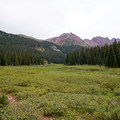 Ascending toward Buckskin Pass. - Four Pass Loop