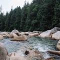 Gold Creek.- Gold Creek Falls, Lower Falls Trail