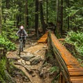 Most of the features have alternative routes.- Mount Seymour Trails: Old Buck + Pangor Loop