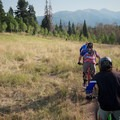 Open meadow and view.- Stumpjumper / Stumpy