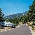 Moraine Park loop road.- Moraine Park Campground