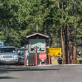 Campground entrance.- Moraine Park Campground