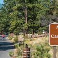 Reservations are a good idea during the summer.- Moraine Park Campground