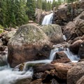 Alberta Falls.- The Loch Hike