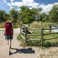 South Boulder Creek Trail.- South Boulder Creek Trail via Bobolink Trailhead