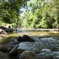 Boulder Creek at Eben G. Fine Park.- Eben G. Fine Park