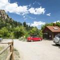 Trailhead for Mount Sanitas.- Mount Sanitas Trail