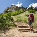 Mount Sanitas Trail.- Mount Sanitas Trail