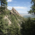View back north of the Third Flatiron.- Royal Arch Hike