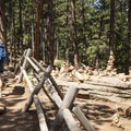 Mesa Trail, a transverse spur off of the Chautauqua Trail.- Chautauqua Trail Hike