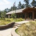 Eldorado Canyon State Park ranger station.- Eldorado Canyon State Park