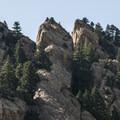 Tail Peak's summit.- Fowler Trail