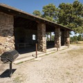 Picnic shelter at Lookout Mountain Park.- Lookout Mountain Park