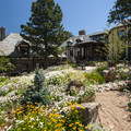 Boettcher Mansion adjacent to the Lookout Mountain Nature Center.- Lookout Mountain Nature Center Forest Loop