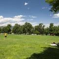 Main lawn at Chautauqua Park.- Chautauqua Park + National Historic Landmark