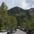 The White Pine Lake Trailhead.- Secret Falls Trail