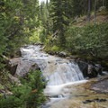 Great place to cross the river just before Secret Falls.- Secret Falls Trail