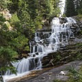 As you can see, the falls are quite large.- Secret Falls Trail