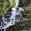 Secret Falls.- Secret Falls Trail