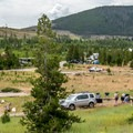 This is a busy campground on weekends, but it is wide open during the week.- Peak One Campground