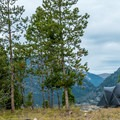This campground is equally good for tents or RVs.- Peak One Campground