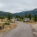 Another view of the Tenmile Range.- Peak One Campground