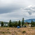 Peak One makes a great base for exploring the Dillon Lake area.- Peak One Campground