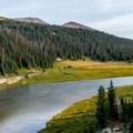 Poudre Lake.- Peak 12,150 Hike