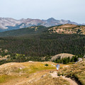 Views of the Never Summer Mountains. - Peak 12,150 Hike