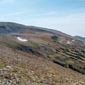 Peak 12,150 is just above the rounded high point. - Peak 12,150 Hike