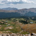 View from the top!- Peak 12,150 Hike